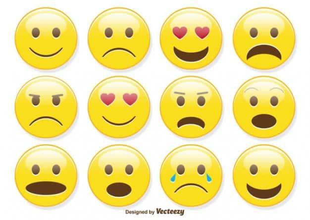 Las emociones en el marketing de contenidos. Emoticonos