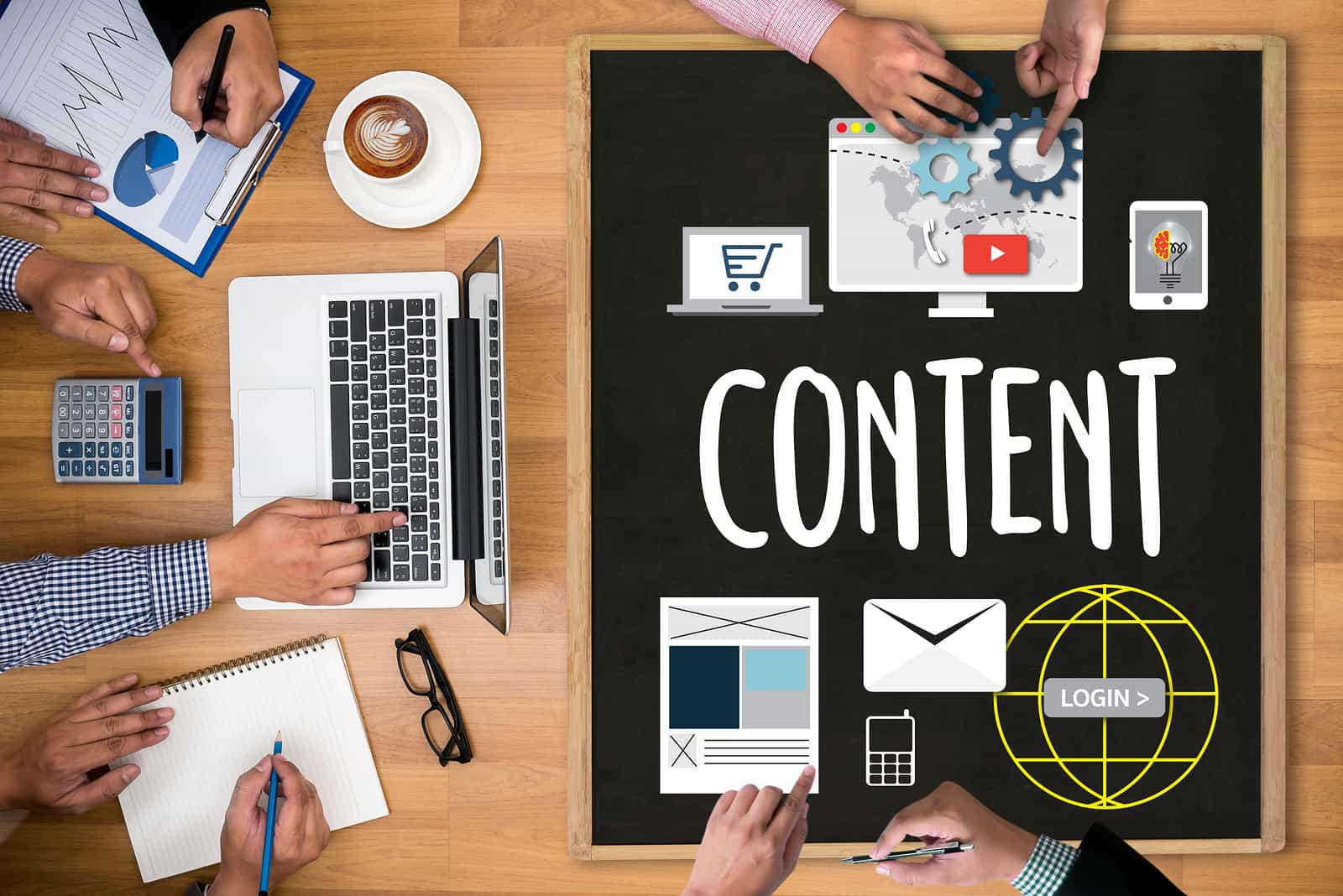 el marketing de contenidos y la publicidad
