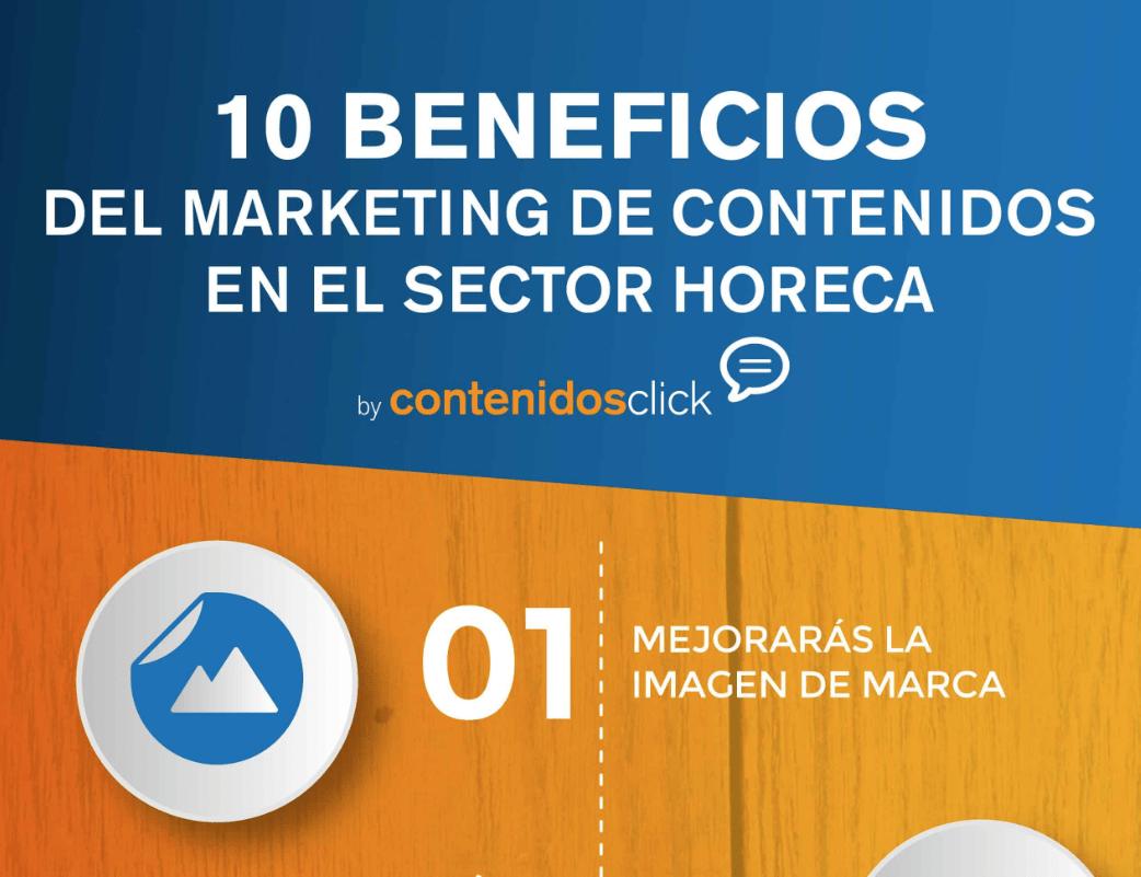 beneficios del marketing de contenidos en el sector horeca
