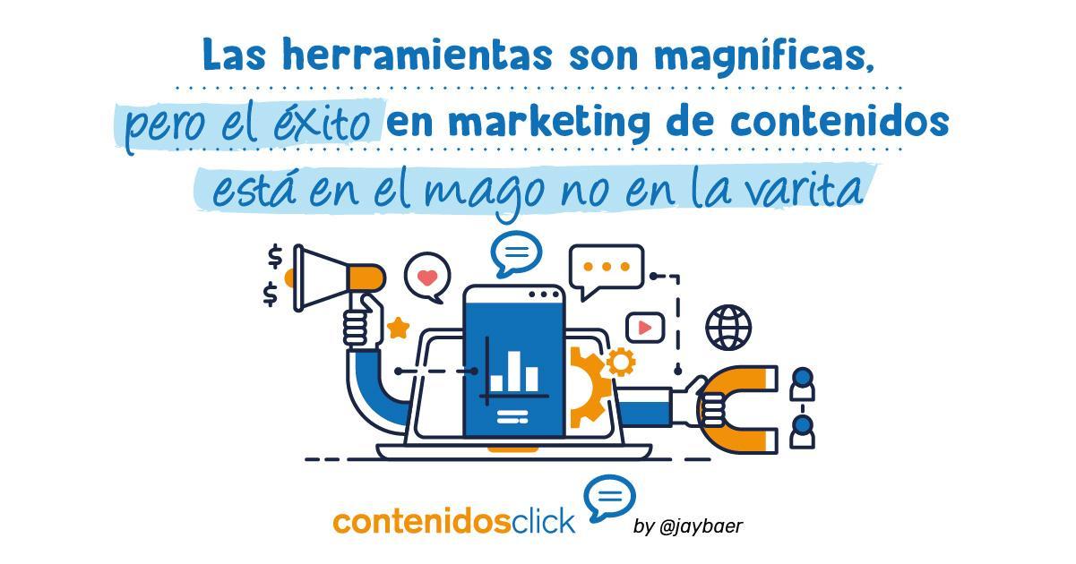 El éxito del marketing de contenidos está en el magho no en la varita