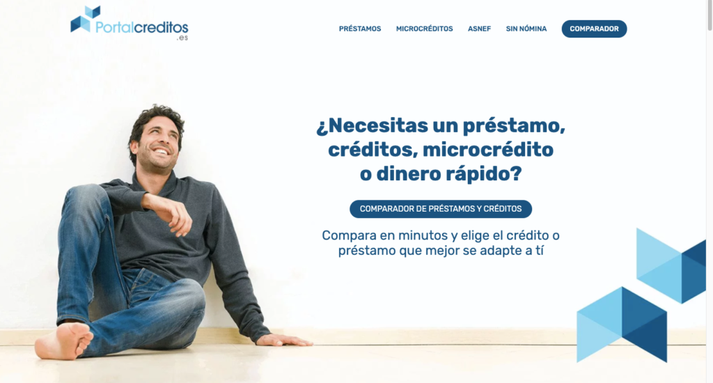 Portalcreditos.es comparador de préstamos online